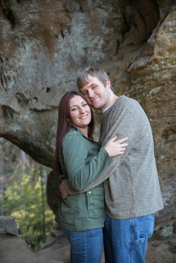 Red River Gorge photos, engagement photos, Georgetown KY photographer