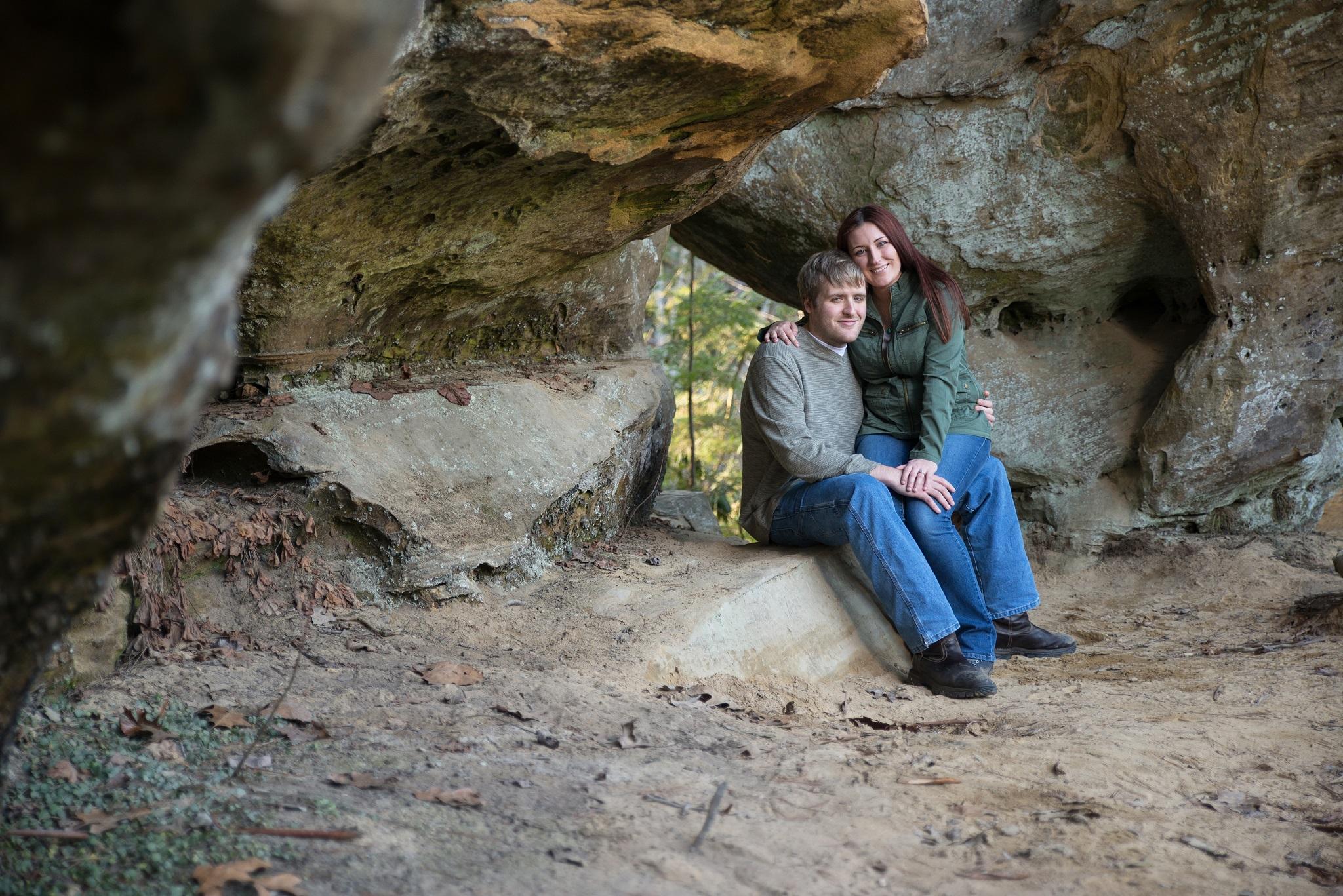 engagement photos, Kentucky engagement photos, KY wedding photographer, Georgetown KY wedding photographer, Red River Gorge
