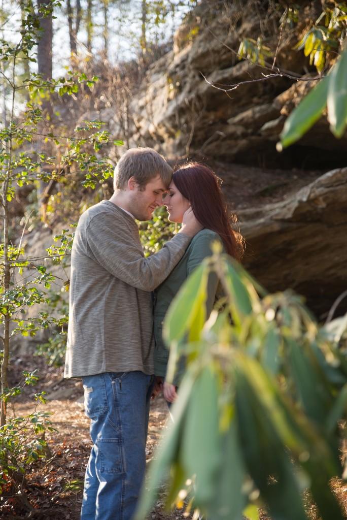Red River Gorge, Kentucky photographer, Kentucky bride, hiking, Georgetown KY photographer