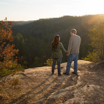 Red River Gorge Engagement Session: Andrew and Rebecca
