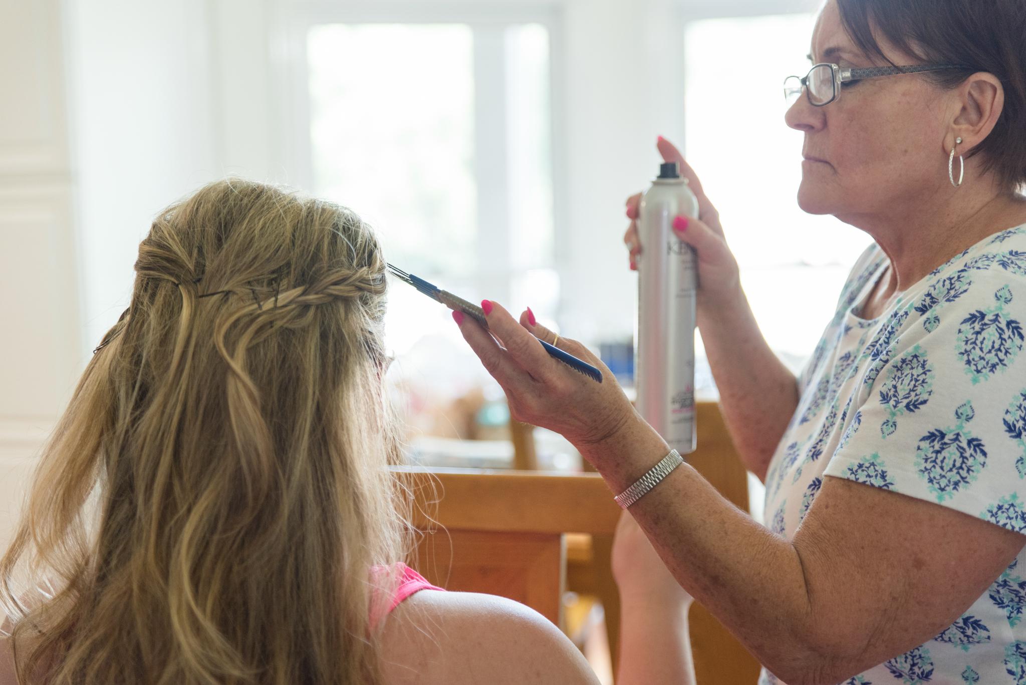 getting ready, wedding photos, kentucky bride