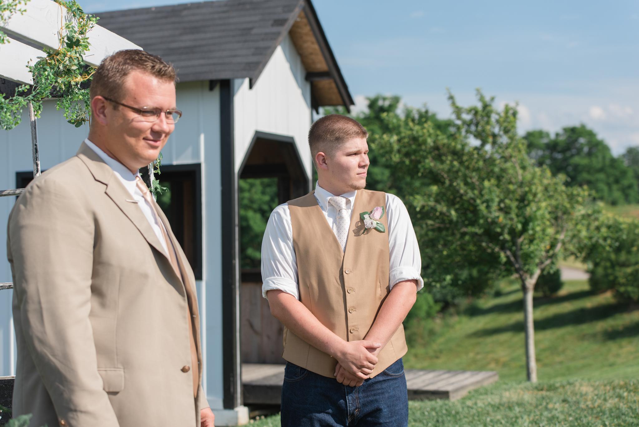 groom, Kentucky wedding, KY groom, KY barn wedding, outdoor wedding, Josephina Event Venue, Lexington, Louisville, Campton, Somerset, West Chester, Ashland