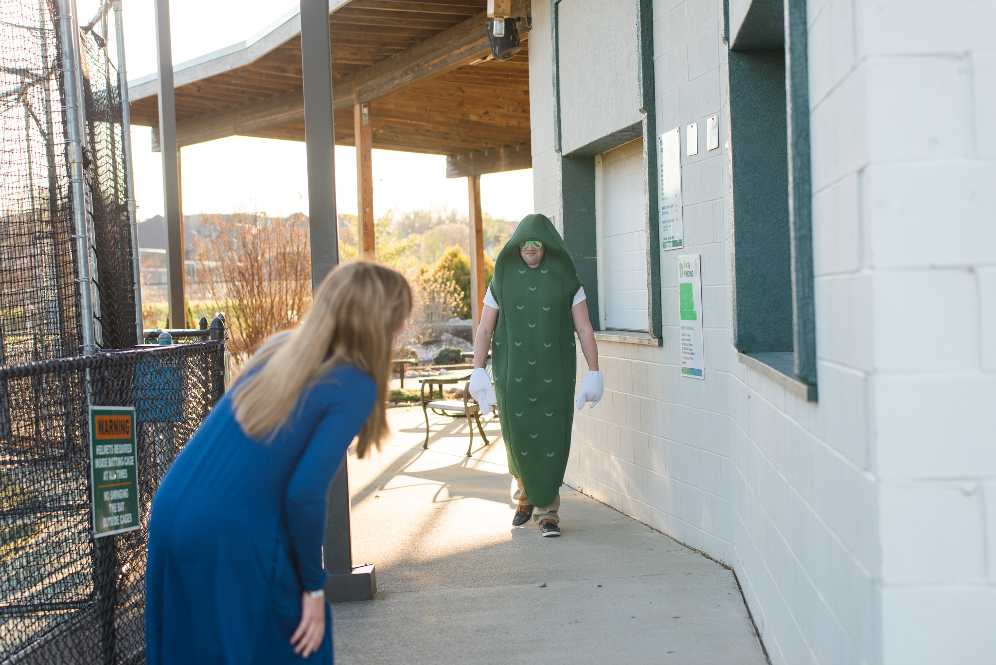 Lake Reba KY engagement session in pickle suit