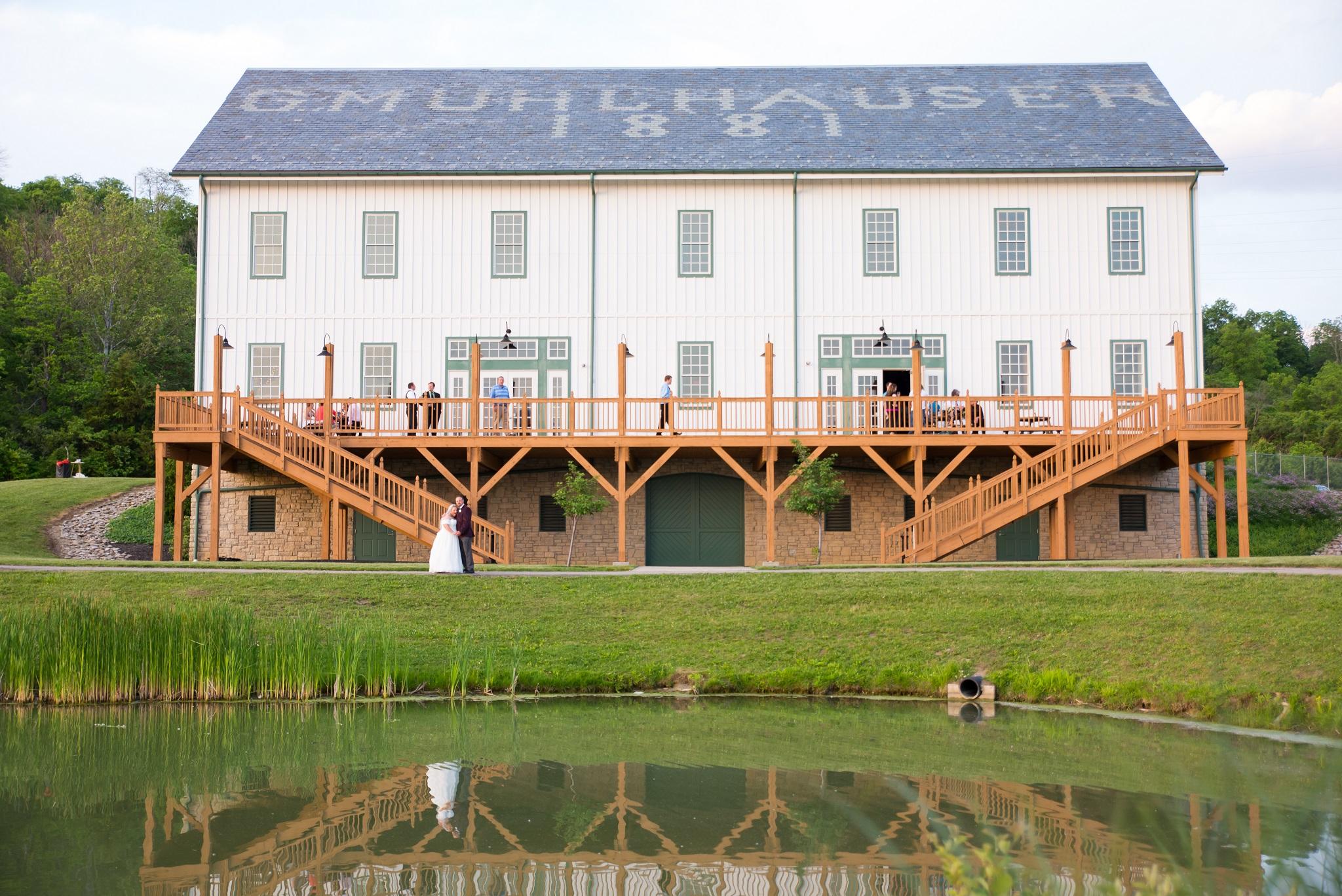 Mulhuaser wedding barn in West Chester, Ohio
