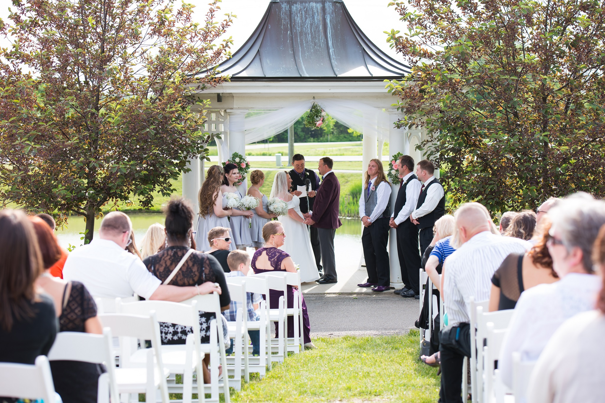 West Chester, Ohio Wedding Photography: Matthew and Michelle