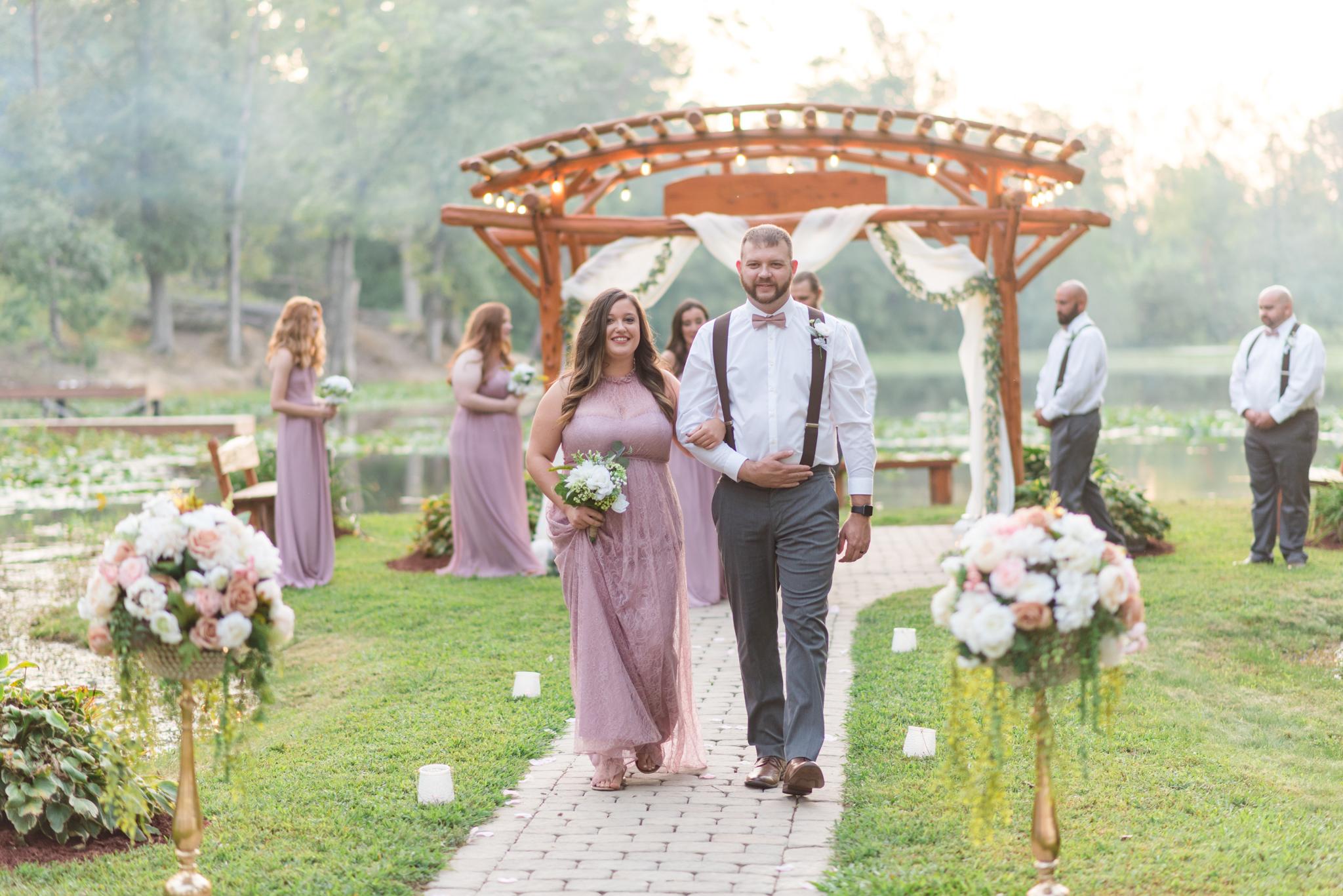 Kentucky wedding, Kentucky bride, Red River Gorge, southern wedding, outdoor wedding, Lexington, Stanton, Callie's Campground
