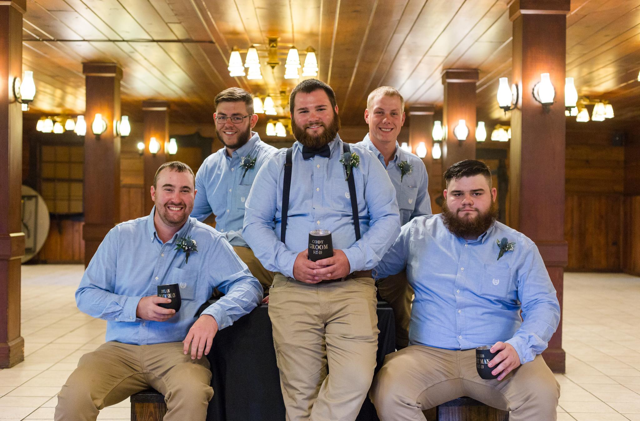 groom and grromsment
