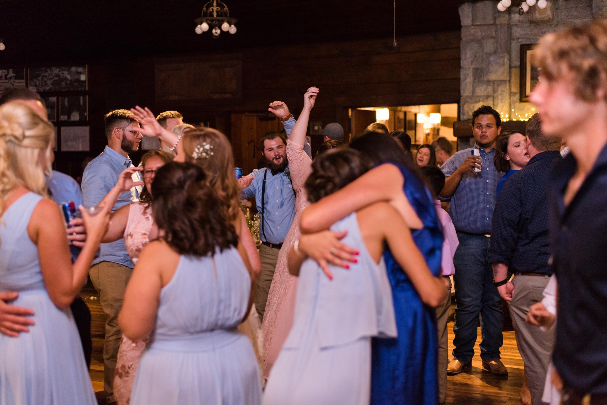 dancing at a Kentucky weddin