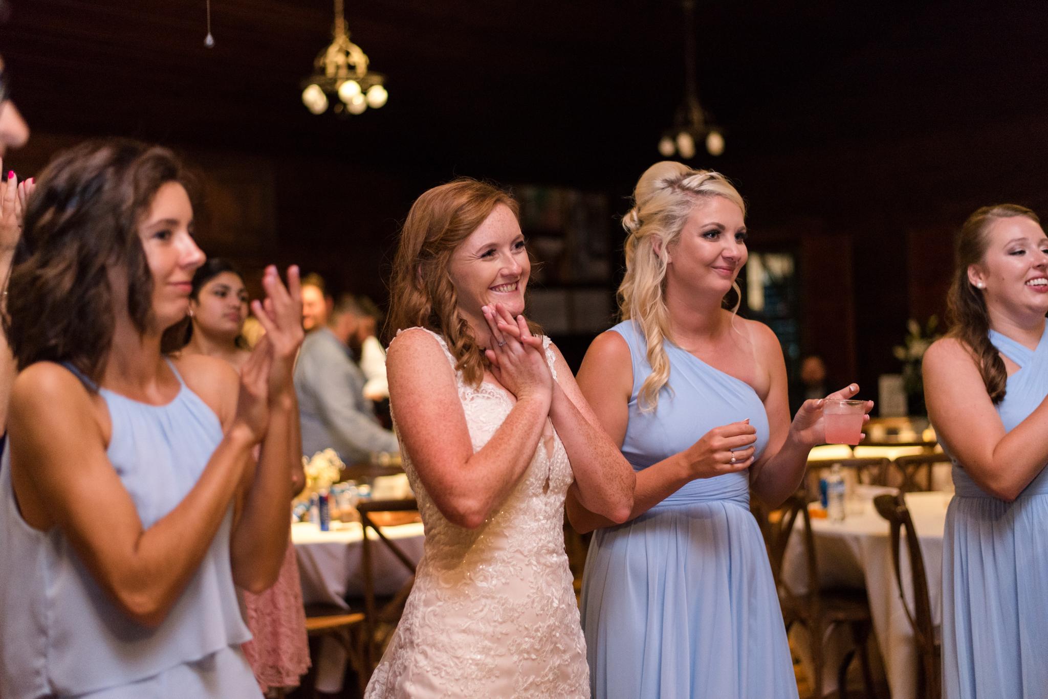 happy Kentucky bride