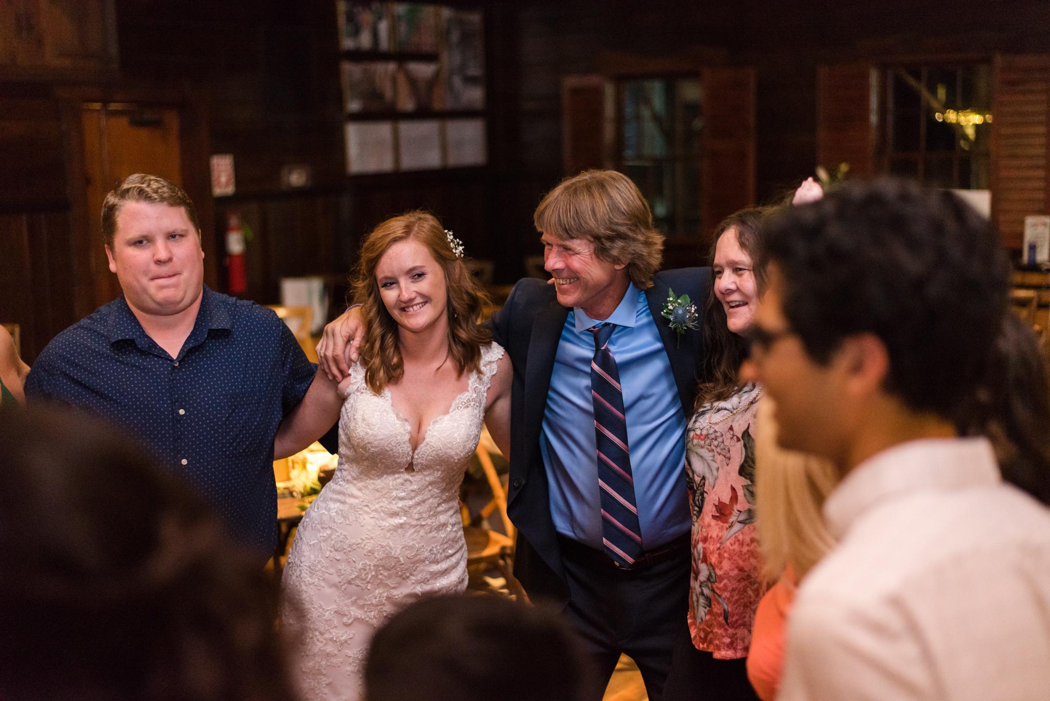 dancing at a Buffalo Trace wedding